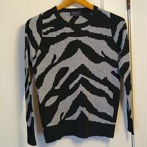 POL Sweater Black Gray
